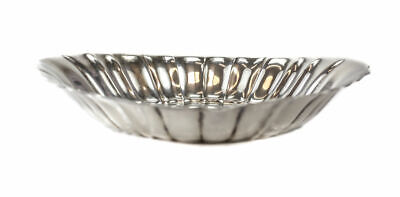 Reed & Barton Sterling Silver Modernist Bread Bowl in Pattern X309, circa 1940