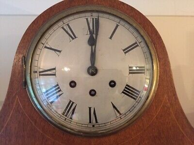 Lovely Antique Napoleon Hat Winchester chiming clock - good timekeeper