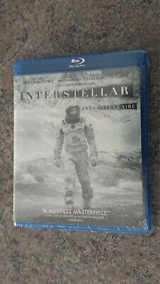 new BLU-RAY of INTERSTELLAR By Warner Bros  BLU-RAY 1478634  2-disc SEALED