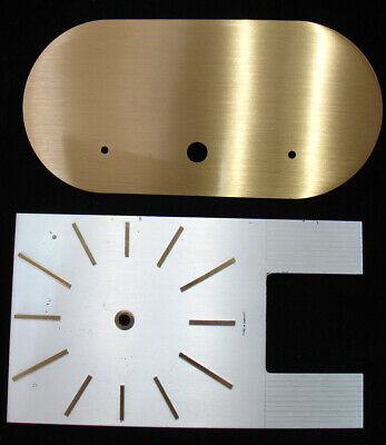 Rare Kundo Anniversary Clock Dial and Base Plate - Made in Germany (C-664)