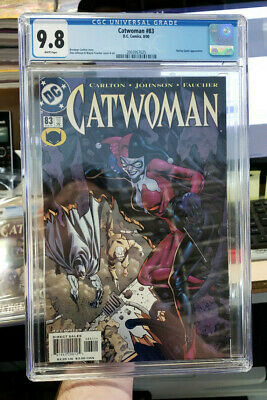 CATWOMAN #83 (Vol. 2) - CGC Graded 9.8 - Early HARLEY QUINN appearance!