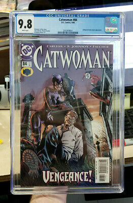 CATWOMAN #84 (Vol. 2) - CGC Graded 9.8 - Early HARLEY QUINN appearance!