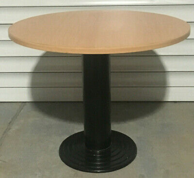1000mm Round Beech Office Table | Great Condition - Sydney