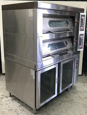 LEEGO Electric double deck oven  model : RN-3809E2