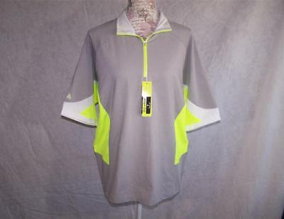 0bbeb454 Antigua Golf Polo Shirt Medium Desert Dry PRF-72 Performance Moisture Wick  NEW