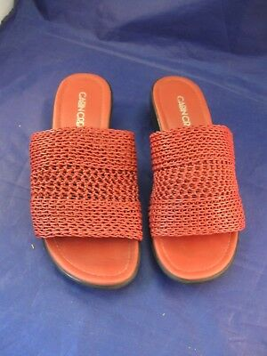 c591804d81dc Pair of Woman s Cabin Creek Slip-on Shoes   Sandals Size 6M