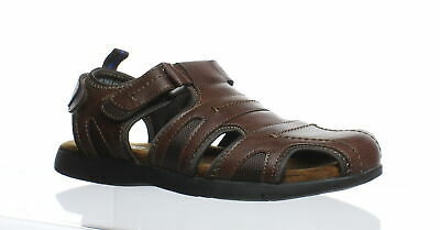 921e1100792f MENS NUNN BUSH Fisherman style Sandals brown Leather (open toe style ...