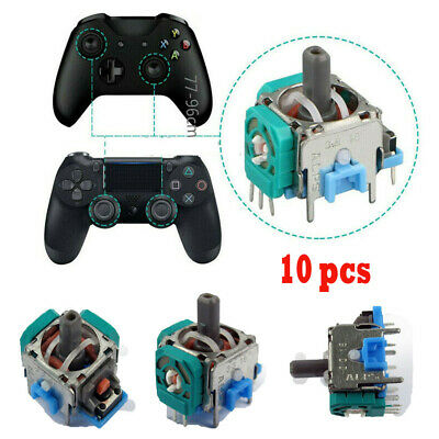 10x Analog Stick Joystick Replacement Thumb Rocker For PS4 Xbox Controller New