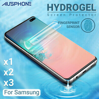 SAMSUNG GALAXY S10 5G PLUS S10e Note 10 Plus HYDROGEL AQUA FLEX Screen Protector