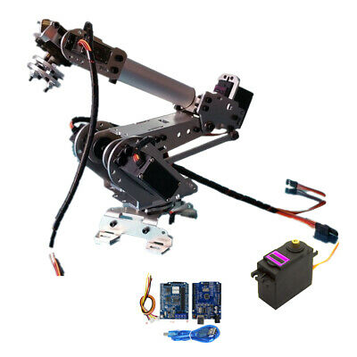 6Axis Robotic Mechanical Arm Gripper with Servo&Wifi Control Kit for Arduino