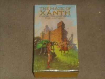 The Magic of Xanth by Piers Anthony An Enchanting Fantasy Trilogy 1985 DEL REY