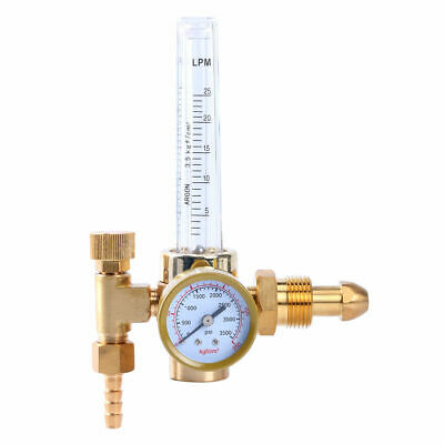 Brass Argon CO2 Mig/Tig Flow Meter Welding Weld Regulator Gauge Gas Welder G5/8