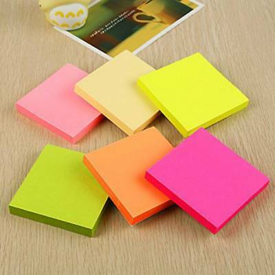 Sticky Notes Notebook Memo Pad Bookmark Paper Sticker Post Notepad Stationery