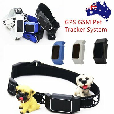 Waterproof Mini GPS Pet Finder Tracker Locator GSM Tracking Dog Cat Collar RY