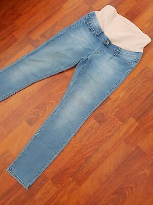 JEANSWEST Maternity Over Bump Skinny Jeans sz 10