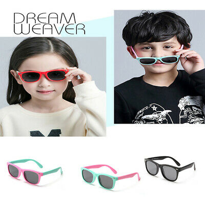 Kids Flexible Polarized Sunglasses Boys Girls Glasses for Outdoor Accessories