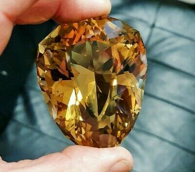Rare natural Golden Citrine Collector or Museum gem..786 Carats! ...45% off now!