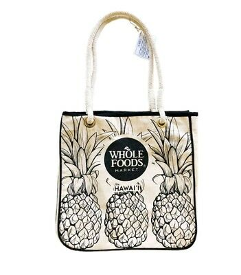 Whole Foods Hawaii Limited Ping Tote Bag New Organic