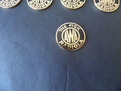 Vintage Radio - Awa Radiola badge new!