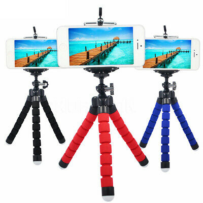 Phone Flexible Octopus Desk Table Stand Tripod Mount Holder for Samsung iPhone