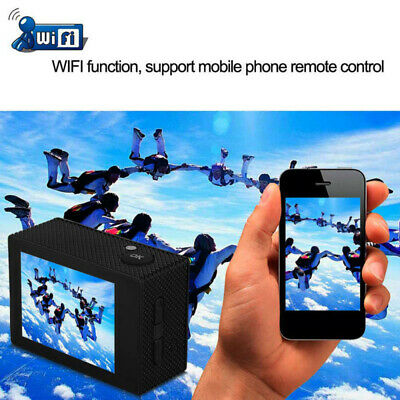 Waterof Ultra 4K HD 1080P WiFi DV Action Sports Video Camera Camcorder Go