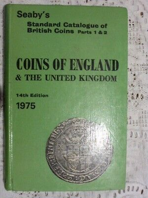 seaby's coins of england & the united kingdom 1975 14th edition