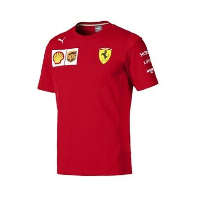 Ferrari 2019 F1 Short Sleeve Team T-shirt - New, updated version