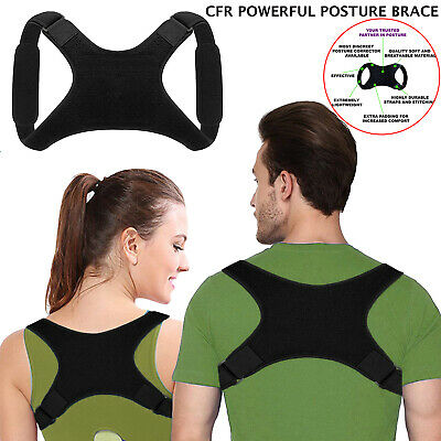 Posture Corrector Back Brace Women Men Shoulder Support Belt Strap Adjustable AU