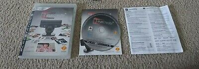 Eye Create for Sony Playstation 3 PS3 Game Complete with Camera and Manuals