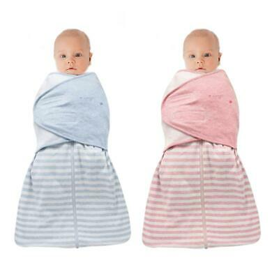 Swaddle Baby Infant Wrap Me Swaddling Blanket Sleeping Bag Cotton Newborn Babies