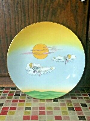 Crown Staffordshire Plate - When We Were Young - Kate Greenaway Inspired