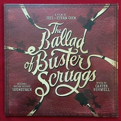 The Ballad Of Buster Scruggs Soundtrack Lp ~ Mint Sealed ~ Carter Burwell