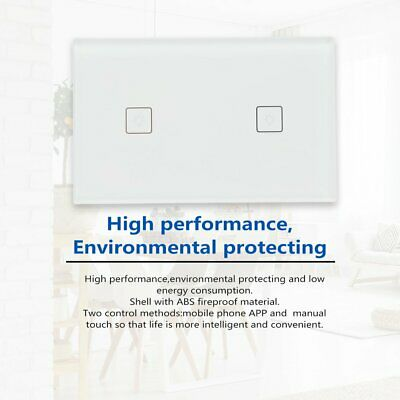 AU Approved Smart ZigBee Light Switch Dimmer for LED Downlight Home 1/2/3 Gang