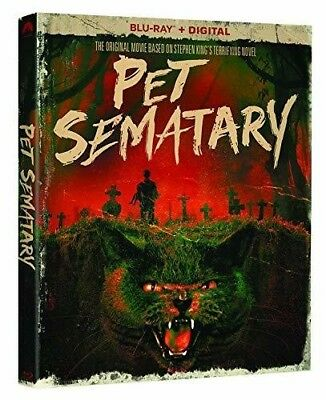 Pet Sematary 30th Anniversary Edition (BLU-RAY) NEW!!!! PRE-ORDERS SHIP 03/26/19
