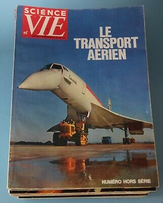 Lot De 15 Revue Science Et Vie Sur L'aviation