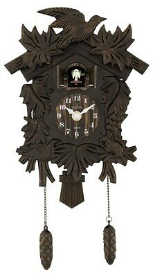 Hamburg Cuckoo Clock Antique Bronze