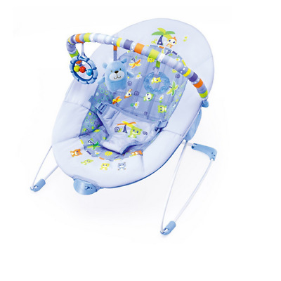 Brand new in box Cute baby vibration bouncer in sea blue from 0 to 9 months