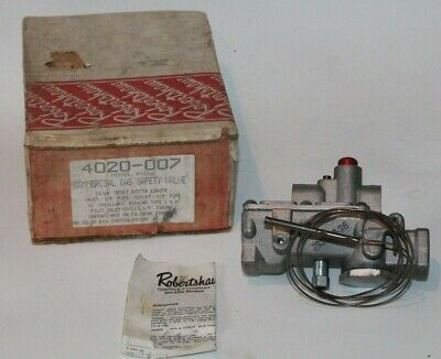 Robertshaw 4020-007 Gas Safety Valve FMDA Invensys    Ships Same Day of Purchase