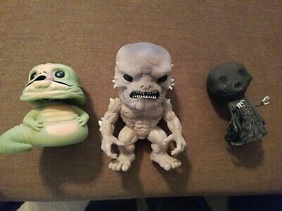 """FUNKO POP! Loose Lot- 6"""" DOOMSDAY, Jabba the Hutt, Death Eater from Harry Potter"""