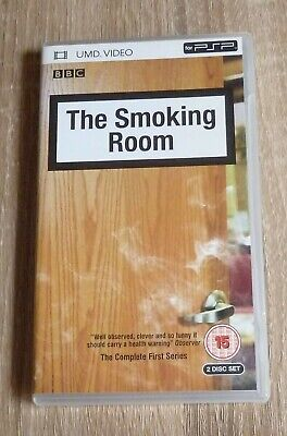 THE SMOKING ROOM Complete First Series 2 Disc UMD for PSP Free UK Postage