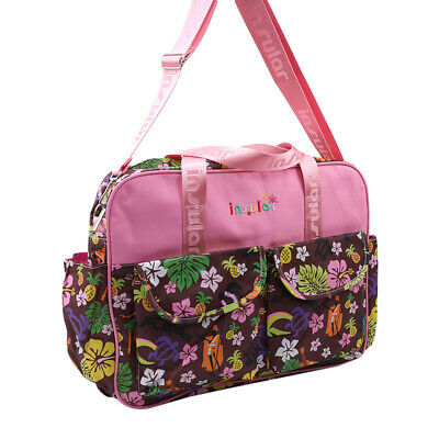 Plus Size Shoulder Mummy Bags Baby Diaper Holder Nappy Maternity Outdoor Bag 6A