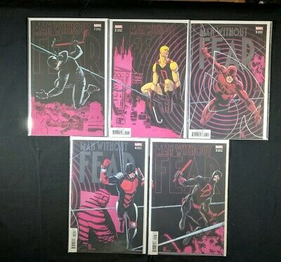 Man Without Fear #1-5 1 2 3 4 5 Camuncoli Connecting Set Lot Daredevil