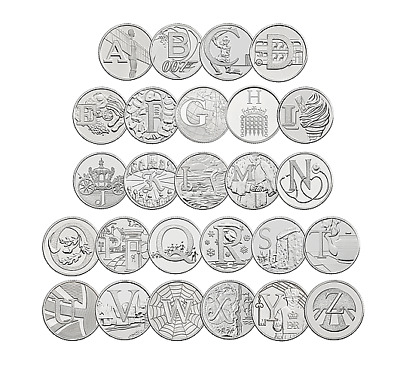2019 Alphabet 10p A-Z Great British Coin Hunt - Uncirculated - ROYAL MINT BU