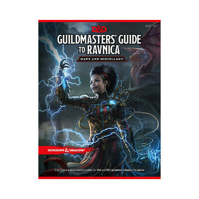 Dungeons & Dragons - Guildmasters' Guide to Ravnica - Maps and Miscellany - Loot