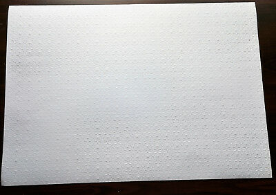 Half Scale 1//24 Embossed Ceiling Sheet JMS50 Jackson/'s Miniature dollhouse