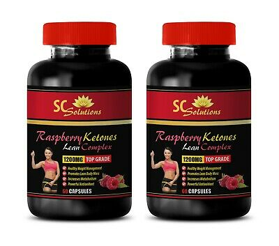 natural fat burner - RASPBERRY KETONES - natural energy booster 2 Bottles