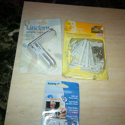 Baby Child Safety, Lindam Xtra Guard BNB UK FREEPOST  2 larger LOCKS