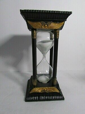 Studio Collection Veronese Design Egyptian Hourglass with Hieroglyphics New
