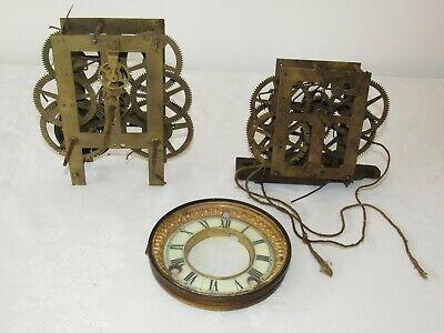 Two Old Interesting American Clock Movements