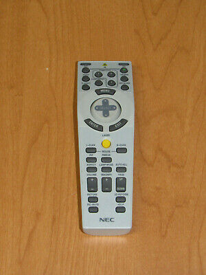 Genuine NEC RD433E 7N900801 Projector Remote Control - Tested Working
